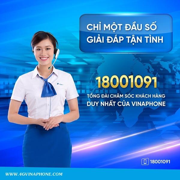 Số điện thoại tổng đài Vinaphone
