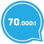 Đăng ký gói BIG70 Vinaphone nhận ngay 2,4 GB chỉ 70.000đ / tháng