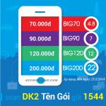 Đăng ký gói BIG Data Vinaphone