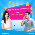Ứng số phút gọi Vinaphone miễn phí