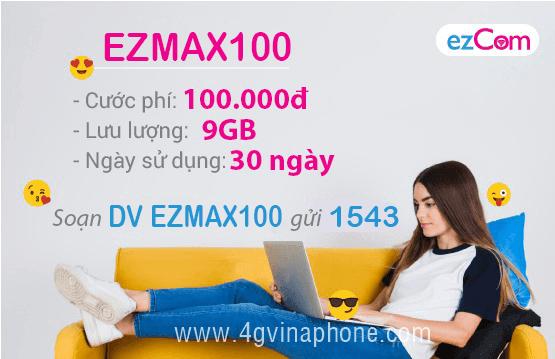Đăng ký gói Dmax100 Vinaphone
