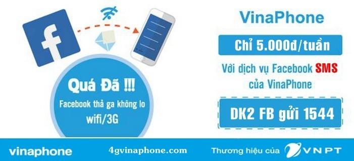 Đăng ký dịch vụ facebook SMS Vinaphone