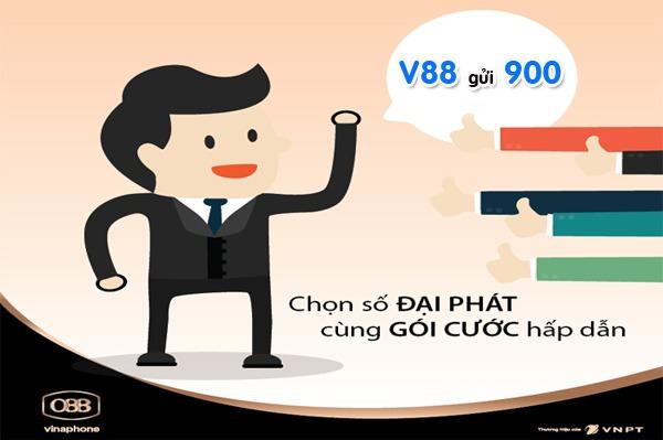 Đăng ký gói cước V88 Vinaphone