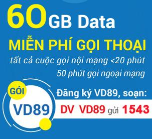 đăng ký gói cước vd89 vinaphone