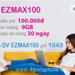 Đăng ký gói EZMAX100 Vinaphone