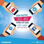 Đăng ký Gói cước 3G 4G Vinaphone chu kỳ dài