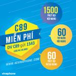Đăng ký gói C89 Vinaphone nhận ưu dãi 3 trong 1