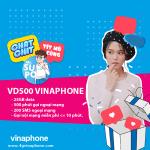 Đăng ký gói VD500 Vinaphone