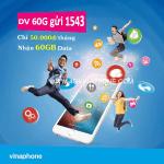Đăng ký gói 60G Vinaphone nhận ngay 60GB Data