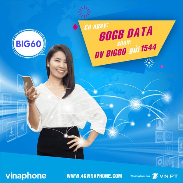 Đăng ký gói BIG60 Vinaphone