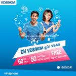 Đăng ký gói VD89KM Vinaphone nhận ưu đãi khủng