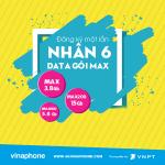 Vinaphone ưu đãi nhân 6 Data tốc độ cao