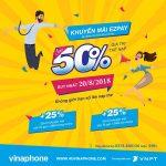 Chương trình Vinaphone khuyến mãi EZPAY ngày 20/8