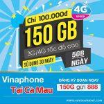 Đăng ký gói 150G Vinaphone