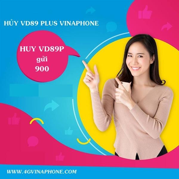 Cách Hủy gói cước VD89P Vinaphone nhanh chóng