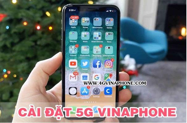 Cài đặt 5G Vinaphone