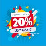 Chương trình Vinaphone khuyến mãi ngày 21/11/2018