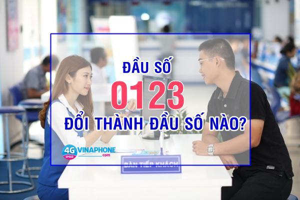 Đầu số 0123 đổi thành đầu số nào