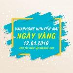 Vinaphone khuyến mãi ngày 12/4/2019 tặng 20% giá trị thẻ nạp