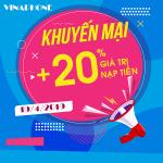 Vinaphone khuyến mãi ngày 19/4/2019