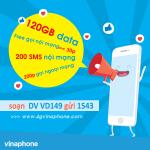 Đăng ký gói VD149 Vinaphone nhận ưu đãi khủng