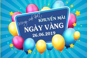 Mừng sinh nhật Vinaphone khuyến mãi 26/6/2019 tặng 20% thẻ nạp