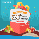 Khuyến mãi Vinaphone 7/6/2019