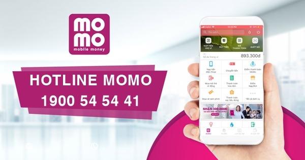 Số tổng đài ví MoMo