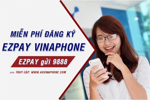Cách đăng ký EZPay Vinaphone