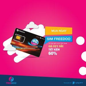 Sim Freedoo Vinaphone và những ưu đãi khủng không thể bỏ qua