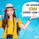 Tài khoản KM4 Vinaphone dùng làm gì?