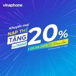Vinaphone khuyến mãi ngày 3/9/2019