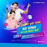 Đăng ký gói M1 Vinaphone nhận 4GB lướt Zalo miễn phí