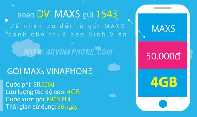 Đăng ký 3G Vinaphone sinh viên