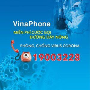 VNPT miễn phí cước gọi tới đường dây nóng dịch bệnh Virus Corona
