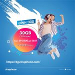 Hướng dẫn cách đăng ký gói cước D30G Vinaphone