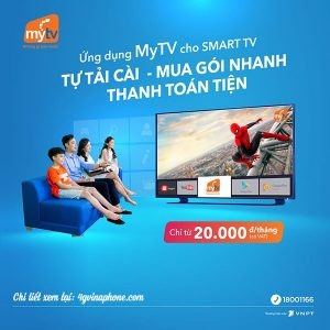 Dịch vụ MyTV VNPT – Giới thiệu, bảng giá và cách đăng ký gói MyTV