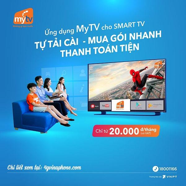 Dịch vụ My TV VNPT: Giới thiệu, bảng giá và cách đăng ký
