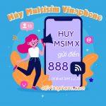 Hướng dẫn cách hủy dịch vụ MultiSIM Vinaphone