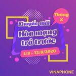 Thông tin chi tiết về chương trình Vinaphone khuyến mãi tháng 8/2020
