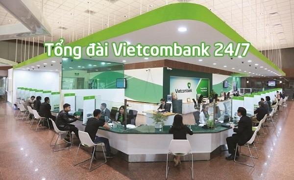 Số tổng đài Vietcombank là số mấy?