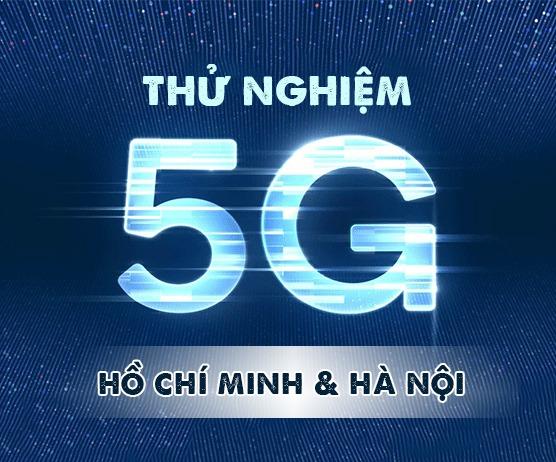 Vinaphone thử nghiệm mạng 5G tại phố đi bộ Hà Nội và Hồ Chí Minh