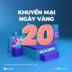 Vinaphone khuyến mãi ngày 25/6/1995 ưu đãi 20% giá trị tiền nạp bất kỳ