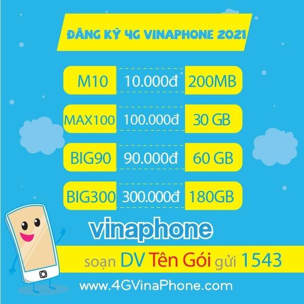Vinaphone khuyến mãi 4/6/2021