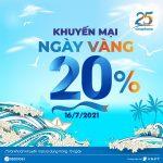 Khuyến mãi Vinaphone ngày 16/7/2021 ưu đãi 20% giá trị tiền nạp bất kỳ
